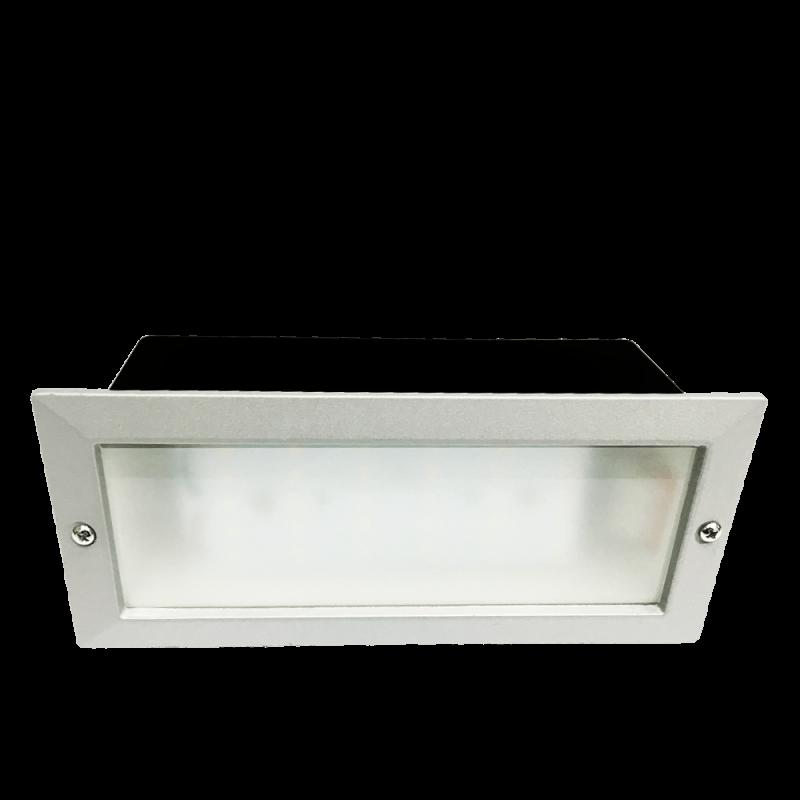 Χωνευτό φωτιστικό αλουμινίου E27 Λευκό (2082) EVIVAK 105021