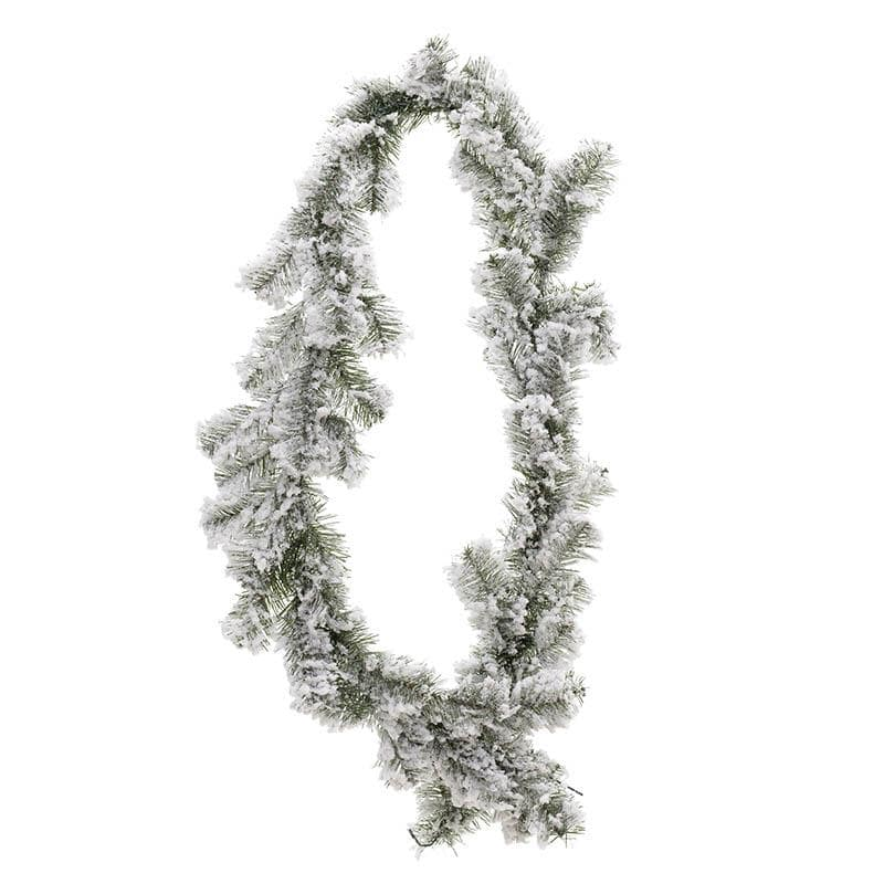 INART Γιρλάντα Χριστουγεννιάτικη 180 εκ Green, White-Ivory ΚΩΔΙΚΟΣ: 2-85-125-0020